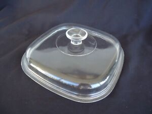 Corning Ware 5lt  2.5 L casserole dish a-10-b FRYPAN pyrex glass lid