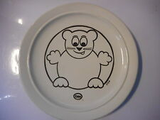 assiette publicitaire esso chat - plate advertising  Esso cat 70's PJM 75 gaz