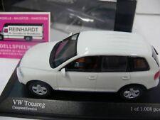 1/43 Minichamps VW Touareg 2003 weiss 400 052001