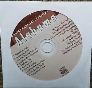 ALABAMA CDG KARAOKE COUNTRY CLASSICS CKC #17 CD+G NEW MUSIC MOUNTAIN,SOUTHERN