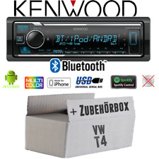 Kenwood Autoradio für VW Bus T4 Bluetooth MP3 USB iPhone Android Spotify Set PKW