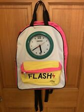 Field & Stream Clock Backpack Child Pink, Green, Yellow School