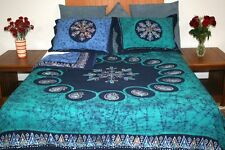 Handmade Cotton Reversible Duvet Cover Multi Batik 100% Cotton Queen King