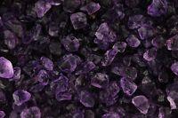 Amethyst - Untrimmed Facet Rough - 'A' Color - 50 Carat Lot