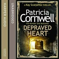 Depraved Heart by Patricia Cornwell - 12 CD's - USED - FREE P&P