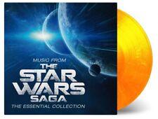 John Williams Music From The Star Wars Saga Doppio Vinile Lp 180 Gr. Colorato