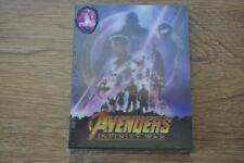 AVENGERS: INFINITY WARBlufans Exclusive Lenticular (Blu-ray + 3D, Steelbook)