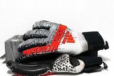 Adidas Predator Pro Fingersave Goalkeeper Gloves GK Soccer Football Black DY2599