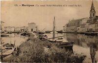 CPA MARTIGUES Le canal Saint Sebastien et le canal du Roi (339874)