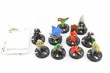 Heroclix DC 10th aniversario Flash Batman Catwoman Green Lantern Braniac