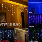 96/150/240/300 LED Fairy String Lights Christmas Xmas Party Wedding Curtain Lamp