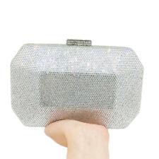 Diamond Clutch Women Evening Bags Wedding Minaudiere Box Handbags Crystal Purses