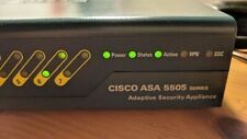 Cisco ASA 5505 firewall with power supply and base license