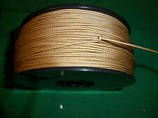 550' 100% NYLON BRAIDED ROPE CORD STRING 1.4mm  GOLD