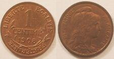 1 Centime Dupuis 1908, SUP à SPL !!