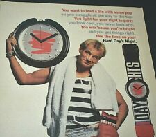 1990 Vintage Print Ad Swatch Watch Bloomingdale's POP Spring Summer Days Nights