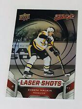 2019-20 UPPER DECK NHL MVP LASER SHOTS RED PARALLEL S-3 EVGENI MALKIN