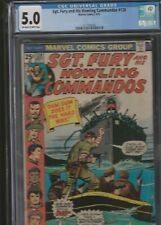 MILITARY SECTION: SGT. FURY AND HIS HOWLING COMMANDOS # 128 CGC 5.0