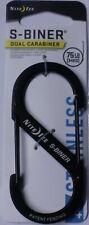 Nite Ize S-Biner Size 4 Black Dual Carabiner SB4-03-01