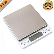 0.1 Gram Precision Jewelry Electronic Digital Balance Weight Pocket Scale 2000g