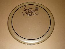 GORDON LIGHTFOOT SIGNED  USED DRUMHEAD SIGNED AND DATED
