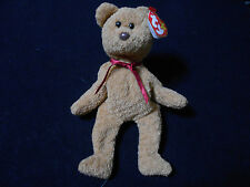 5fc5fe98ded TY Curly the Bear Beanie Baby with MANY ERRORS   Very Rare