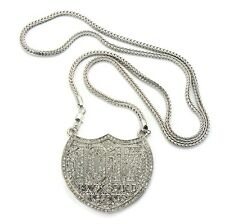 """ICED OUT 1017 BRICK SQUAD PENDANT-2 & 36"""" FRANCO CHAIN"""