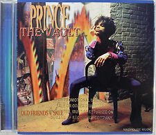 PRINCE CD The Vaults - Old Friends For Sale - USA Gold Embossed PROMO UNPLAYED