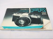 Yashica Camera Fr Ii Instruction Manual (En) 6103040