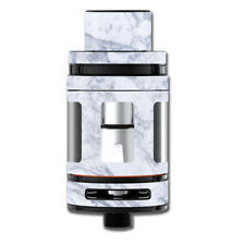 Skin Decal for Smok Mini TFV8 Big Baby Beast Tank Vape Mod / Grey White Standar