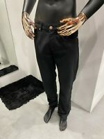 STEFANO RICCI Men's Black Slim Fit Jeans W32 / L33 (100% Authentic & New)