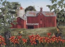 Billy Jacobs Summer Days Farm Bird Print 24 x 18