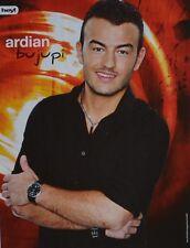 ARDIAN BUJUPI - A4 Poster (ca. 21 x 28 cm) - DSDS Clippings Fan Sammlung