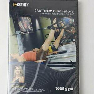 Total Gym GRAVITY Pilates Infused Core DVD NEW SEALED