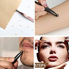 Universal Nose Hair Trimming Tweezers Nose Hair Cutter Stainless Steel Round