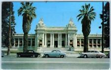 RIVERSIDE, California  CA   RIVERSIDE COUNTY COURTHOUSE  ca 1950s Cars  Postcard