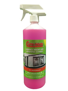 Care-avan Awning Cleaner 1 ltr Spray Gazebos and Ground Sheets Removes Algae