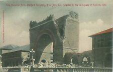 Memorial Arch Stanford University Palo Alto Cali Postcard April 18, 1906
