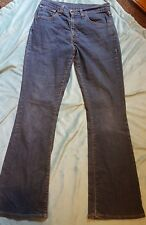 LEVIS 525 Lady's Bootcut Jeans Size: W 30 L 32 Very Good Condition