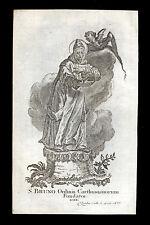 santino incisione1700 S.BRUNO   klauber