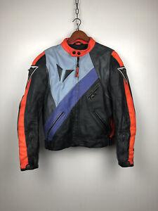 Vintage Dainese Leather Jacket Evolution TS Size 50(M)