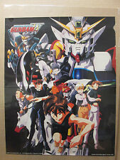 vintage Mobile suit GUNDAM wing Poster original fold up poster classic 7937