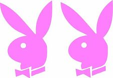 Playboy bunny 2 pack decal sticker buble gum pink
