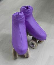 Stiefelschoner Overboot für Rollkunstlauf/Eiskunstlauf lila 28-32