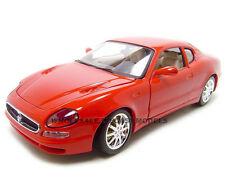 MASERATI 3200 GT COUPE RED 1:18 DIECAST MODEL CAR BY BBURAGO 12031