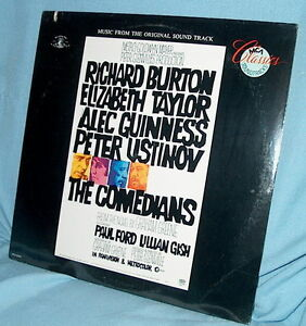 LP FACTORY SEALED Soundtrack THE COMEDIANS Laurence Rosenthal