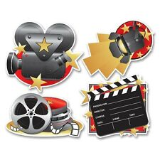 Movie Set Cutouts - Hollywood Movie Party Decorations