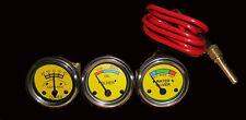 Oliver Tractor Temperature, Oil Pr ,Ammeter Gauge Set
