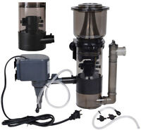 150 Gal Aquarium Protein Skimmer w/ 530GPH Pump Filter Powerhead Tank Salt Water