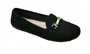 Women's Moccasins Slip On Indoor Outdoor Slipper Shoes